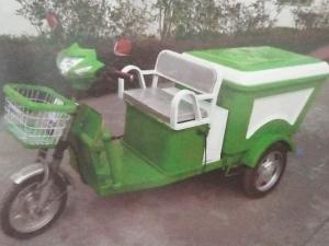 电动垃圾收集车