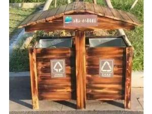 必威体育官网登陆实木垃圾箱